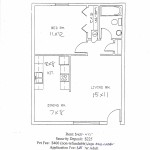 knoxville one bedroom apartment floor plan